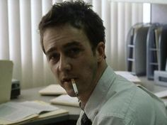 Although he refused to smoke in Rounders his character played poker for cigarettes, but did not smoke, Edward Norton agreed to smoke for this film.