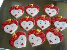 Queen of hearts cookies