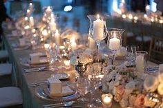 table setting for candle light dinner - Google zoeken