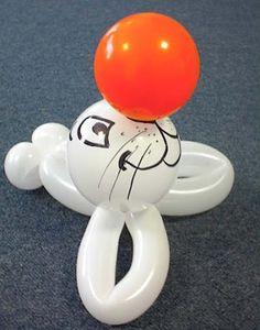 teddy bear balloon art - Google Search