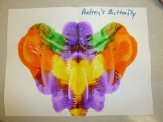 In my toddler's class this week, we are studying butterflies. This is a simple project for little hands to do. And they are amazed at what ...