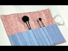 In this tutorial Vanessa of TheCraftyGemini channel will teach you how to create a quilted makeup brush carrier.  This project is easy & functional! It can be used to hold makeup brushes, eyeliner, mascara, lipgloss, eyebrow tweezers or any other thin & long product you want to take with you on the go.      Website: http://www.craftygemini.com  ...