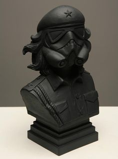 Star Wars Artist Bust Combined with Stormtrooper and Che Guevara fc8e39e74bb