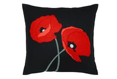 For my red and black living room