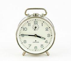Vintage - Alarm clock made in Germany -1930s - Junghans - Germany