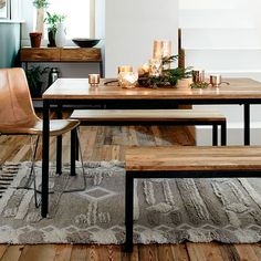 Box Frame Dining Table from West Elm. A possibility for the dining room?
