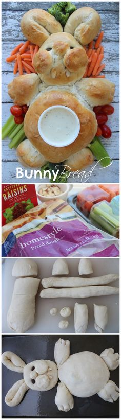 Bunny Bread Recipe..I know this is utterly ridiculous, but there's a small part of me that just wants to make it :)