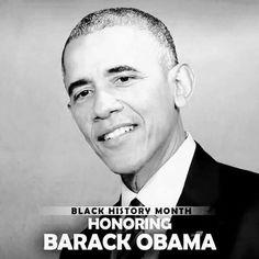 Black History Month Honoring Barack Obama