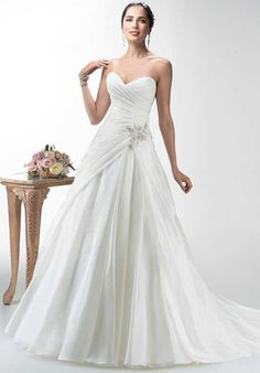 Maggie Sottero Leah A-Line Wedding Dress