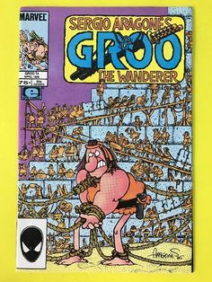GROO The WANDERER 1986 Series #14 Comics Book EPIC April Sergio Aragone's