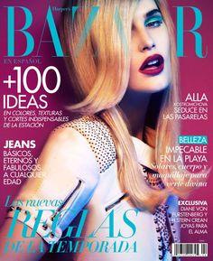 Alla Kostromicheva by JM Ferrater for Harpers Bazaar Mexico April 2012