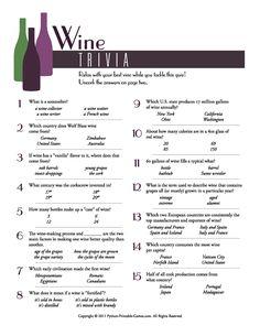 wine trivia