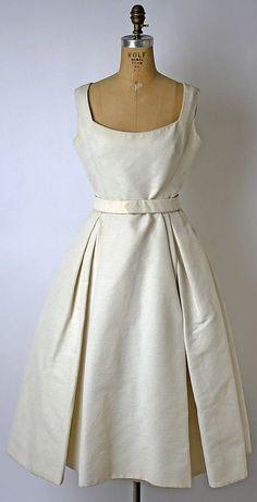 Dior dinner dress 1957