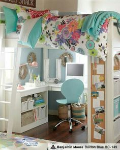 Tara .... Your sweet little girls room