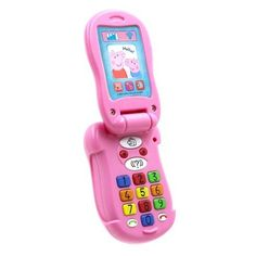 Superb Peppa Pig's Flip and Learn Phone Now at Smyths Toys UK. Shop for Peppa Pig At Great Prices. Rebecca Rabbit, Real Phone, Toys Uk, Learning Toys, Nintendo Wii Controller, Peppa Pig, Pre School, Landline Phone, Great Gifts