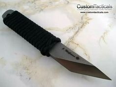 """Triangle blade knife"""