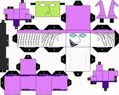 Nightmare Before Christmas Cubee Craft Shock by SHONADH01 on deviantART
