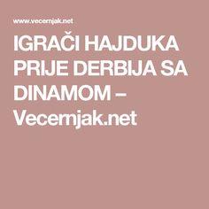 IGRAČI HAJDUKA PRIJE DERBIJA SA DINAMOM – Vecernjak.net