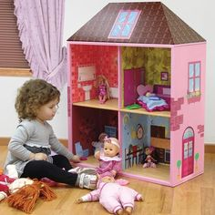 Dollhouse Bookshelf for Kids bookcases-ideas