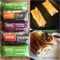 EVOL Revolution burritos are healthy AND tasty! Find them in the freezer aisle at #Meijer! #EVOLRealFoodRev via Being Cheap is Easy