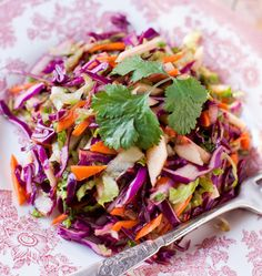 Red Cabbage Salad with Carrots and Apples at Cooking Melangery, Easy Red Cabbage Salad — Tasting Page, Hartnetts red cabbage apple . Apple Salad Recipes, Cabbage Recipes, Red Cabbage Salad, Real Food Recipes, Healthy Recipes, Advocare Recipes, Soup And Salad, Healthy Eating, Healthy Life