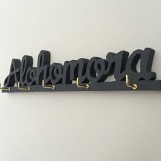 Alohomora key hook by BlueandBrayDesign on Etsy