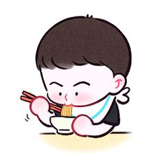 Exo Cartoon, Exo Anime, Exo Fan Art, Kpop Drawings, Bts Aesthetic Pictures, Fanart, Anime Love Couple, My Boo, Cute Chibi
