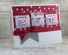 Sealed with Love Stamp Set & Love Notes Framelits Dies by Stampin' Up! www.stampstodiefor.com 20