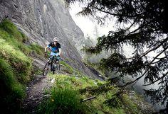 Location: Laax | Photo: Dominic Zimmermann | Spring / Summer Collection 2014 | www.zimtstern.com | #zimtstern #spring #summer #mens #collection #action #mountain #bike #trail #downhill #clothing