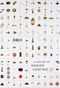 A Century of Danish Lighting - poster
