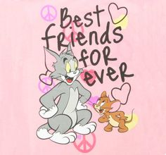 Tom And Jerry Friends Forever Wallpapers High Definition - Sotoak Happy Friendship Day Images, Best Friendship, Friendship Quotes, Bff Quotes, Sister Quotes, Tom And Jerry Wallpapers, Best Friend Wallpaper, Best Fiends, Personalized Chocolate