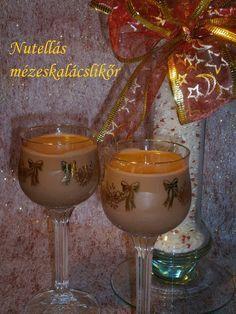 Hankka: Nutellás mézeskalácslikőr Gourmet Gifts, Drinking Tea, Nutella, Vodka, Wine Glass, Alcoholic Drinks, Recipies, Cooking Recipes, Tableware