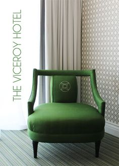 Kelly Wearstler   Viceroy Hotel (what in the **bleep** is this style of chair called! I NEED THEM!!!)