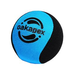 Oakapex Multi-Use Hand Exercise and Stress Relief Ball with Easy Grip Size, 2.2 inches Diameter (Blue and Black) ** Click image for more details.