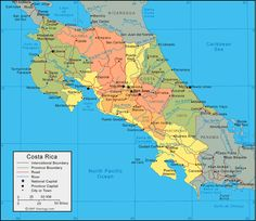 Map of costa rica Need a world map for you? We have a whole pack of map of costa rica that are both functional and we hope you like it. Map of costa rica consists of 10 awesome p…. Moving To Costa Rica, Costa Rica Travel, Nosara, Puntarenas, Tamarindo, Travel Maps, Places To Travel, Costa Rice, Costa Rica All Inclusive