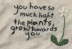 Картинка с тегом «quote, plants, and light»