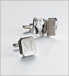 Sterling Silver Locket Cuff Links ($119.95)