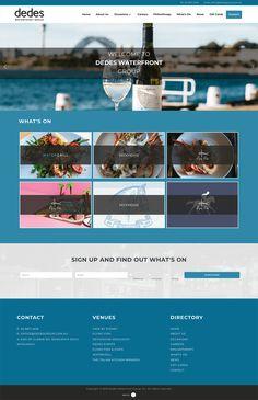 Australian Restaurant, Sydney Restaurants, Business Website, Design Development, Restaurant Design