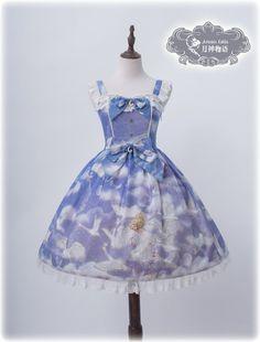 Artemis Lolita -Elissa and The Swans- Lolita Jumper Dress