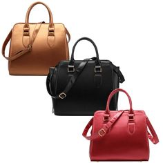 Grab your hands on one of FASH's best-selling Structured Everyday Office Tote Shoulder Handbag. Three handbag colors Copper, Black & Red… Go Grab them All !!!!  http://www.amazon.com/dp/B00VX4IQ4E