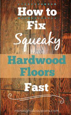 How To Fix Squeaky Hardwood Floors FAST!