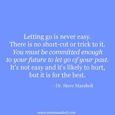 Letting go is Never Easy Quotes images