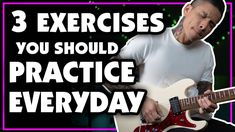 Here are 3 exercises I like to practice everyday (and you should too!) Whether you're a beginner, intermediate, or expert, these exercises will help with han. Music Lessons, Guitar Lessons, Guitar Scale Patterns, Learn Electric Guitar, Lefty Guitars, Finger Exercises, Guitar Youtube, Slide Guitar, Guitar Scales