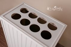 Vinyl Poly Paper and photography backdrop storage unit by Itsafind
