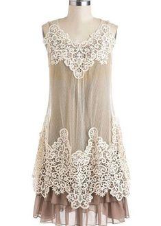 Womens Cream  Sugar Dress - Ryu Clothing for Women - Cassies Closet Women's Dresses - Dress for Women - http://amzn.to/2j7a1wP