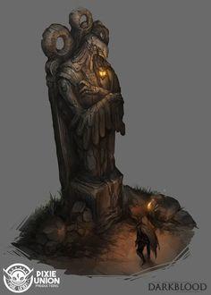 statue_001, Pixie Union on ArtStation at https://www.artstation.com/artwork/bgPmd