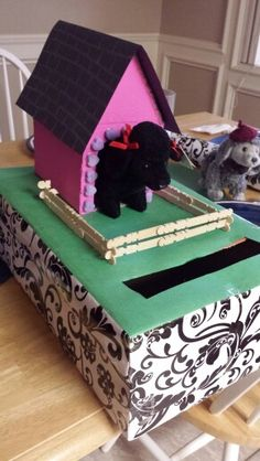 Honden hok Sinterklaas surprise
