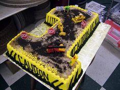 Birthday Cake: Construction Birthday Cakes