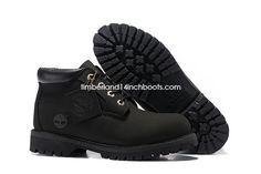 New Timberland Men's Premium Waterproof Chukka Boot All Black $ 110.00