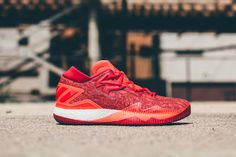 competitive price 866f9 bb459 adidas Crazylight Boost Low 2016  Solar Red   Featuring all-length Boost  cushioning.